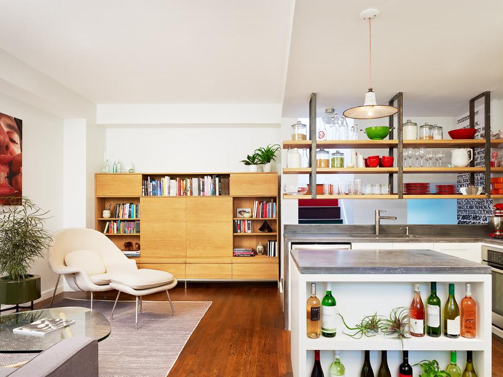 Интерьер комфортабельных маленьких апартаментов