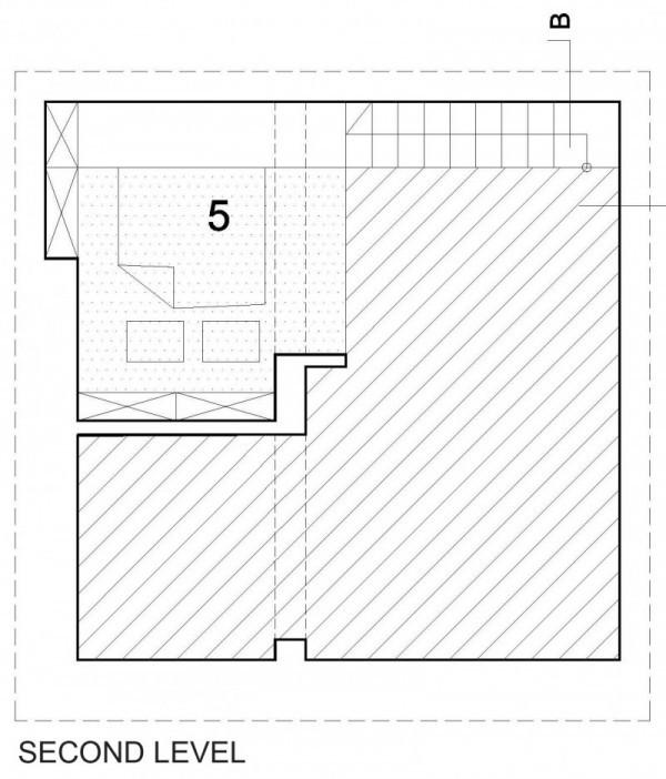 Планировка спальни на втором уровне