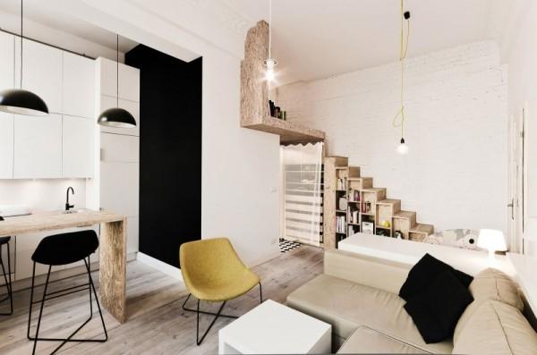 Интерьер квартиры в натуральной палитре