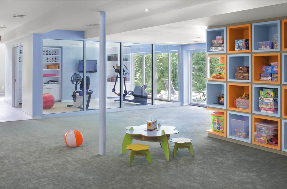 Детская игровая и тренажёрный зал