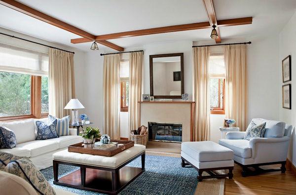 Зона для отдыха в гостиной