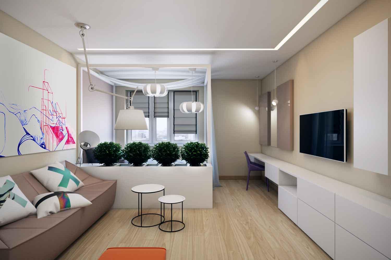 Notranje ideje za enosobno stanovanje