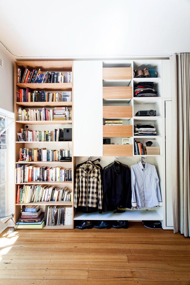 Шкаф для книг и одежды