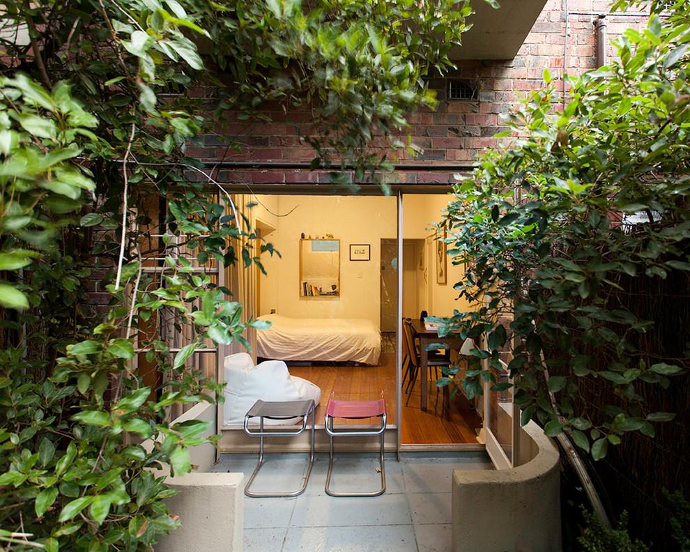 Терраса маленькой квартиры-студии