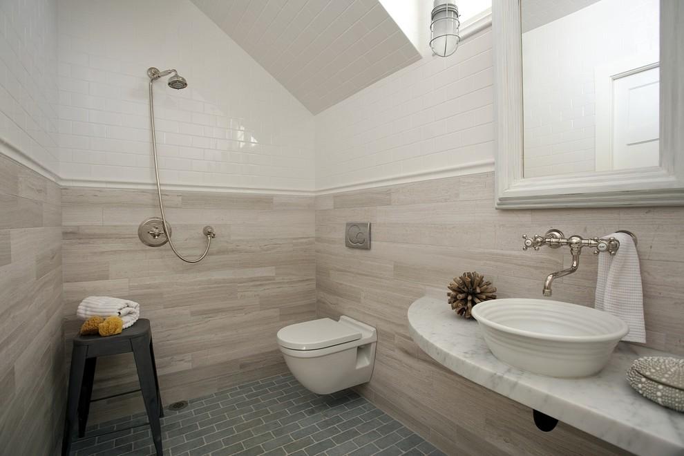 Керамическая плитка в отделке ванной