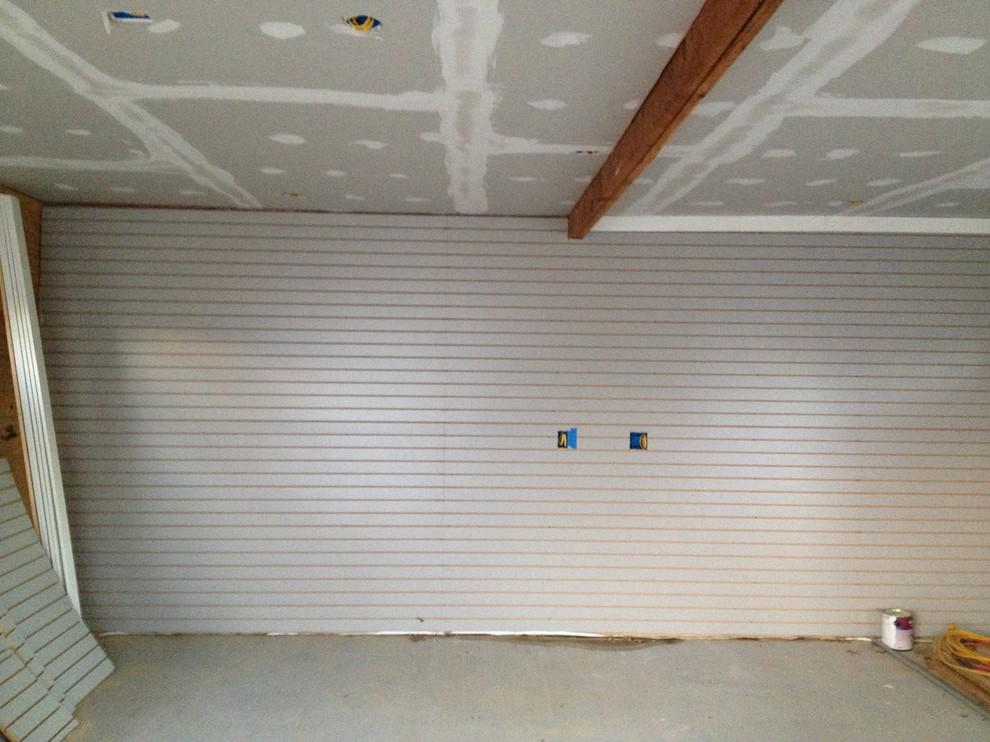 Отделка внутреннего помещения гаража