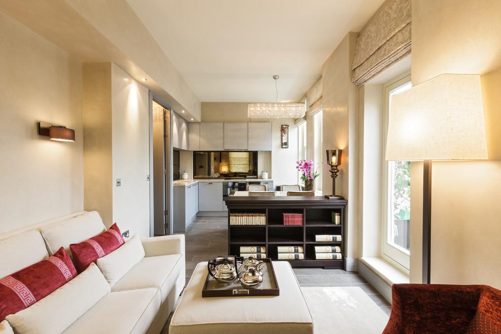 Изящный дизайн-проект маленькой квартиры в Лондоне