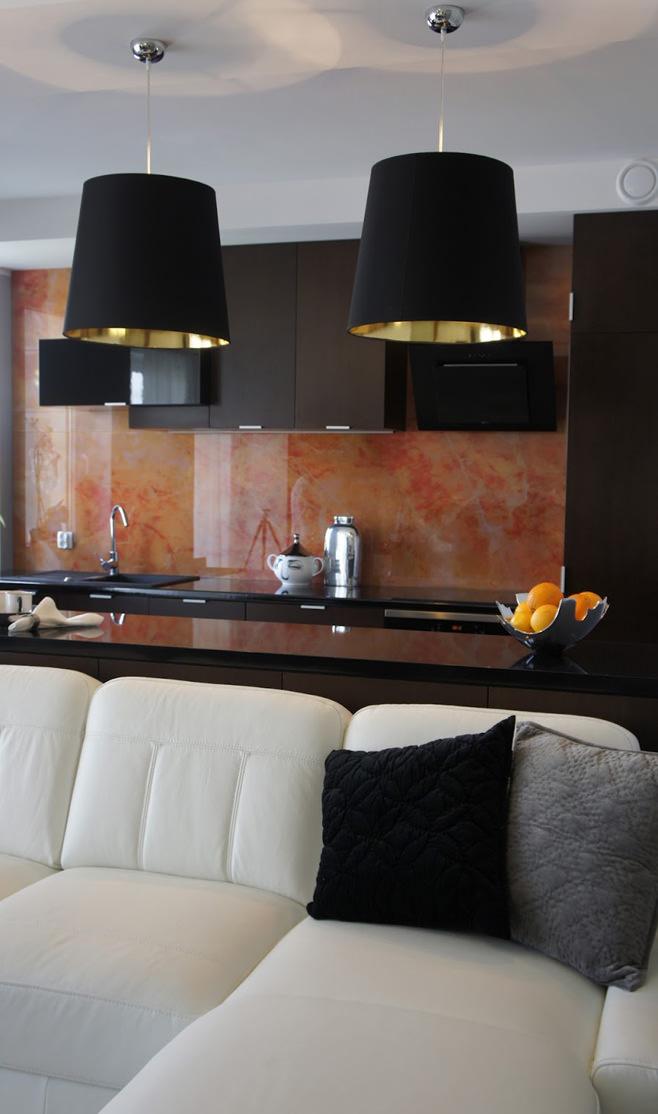 Кухня современной квартиры-студии