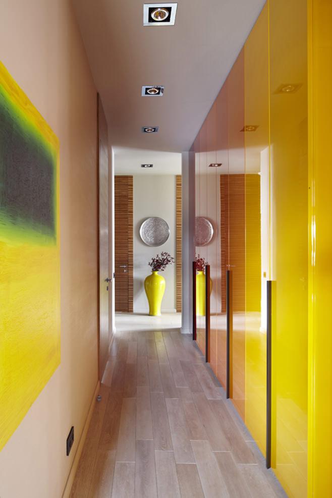 Дизайн коридора в стиле фьюжн