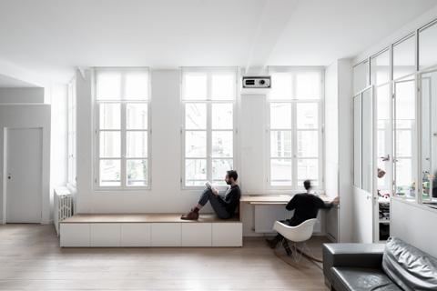 Оформление маленькой квартиры в белом цвете