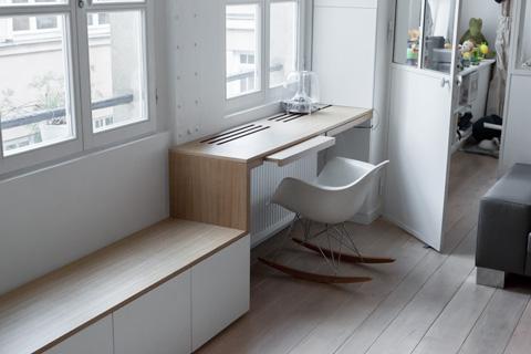 Оформление рабочего места в маленькой квартире