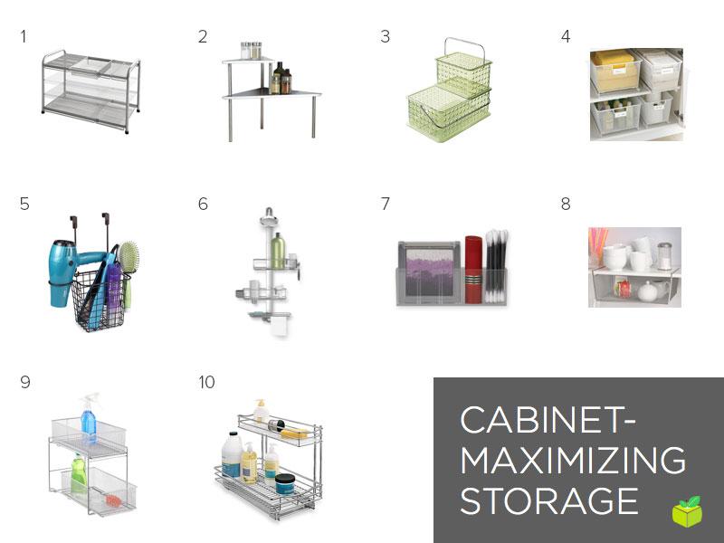 Системы хранения для оформления ванной комнаты