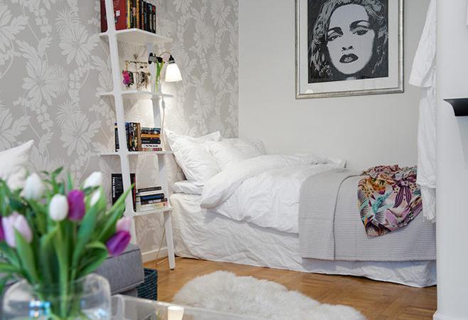 Спальное место в маленькой квартире в Готеборге