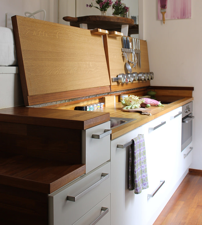 Интерьер небольшой квартиры-студии в Милане
