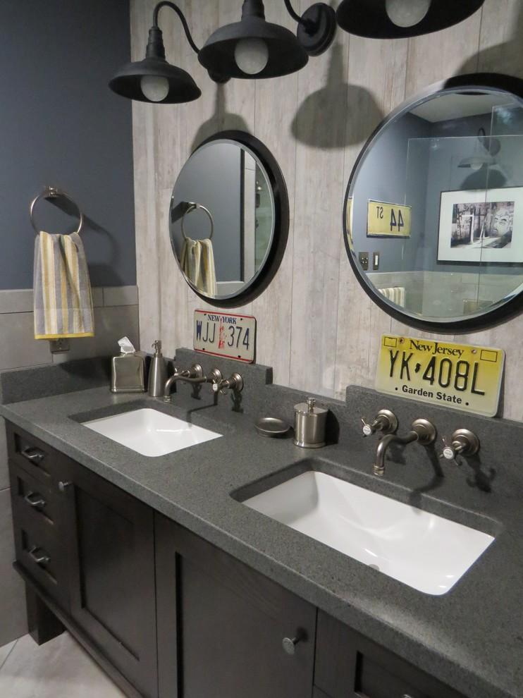 Умывальники в маленькой ванной