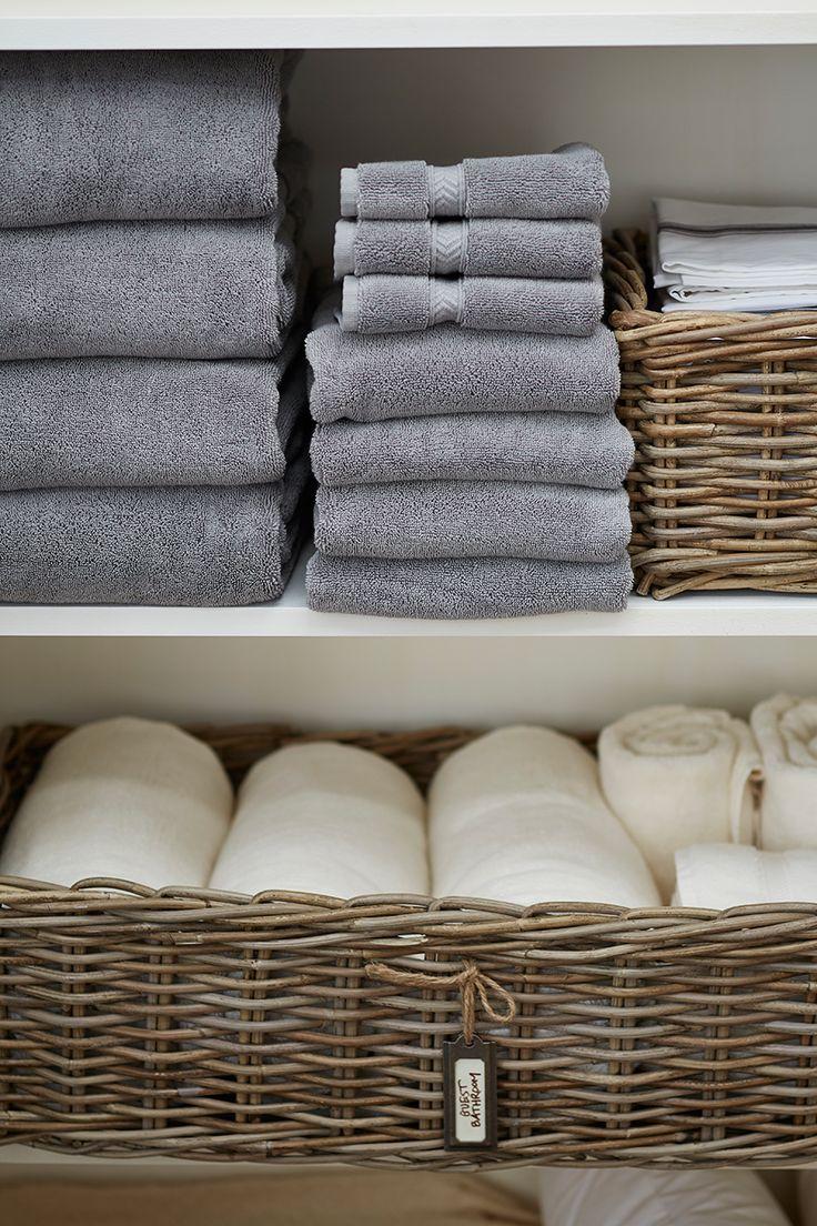 Полки и корзины для полотенец