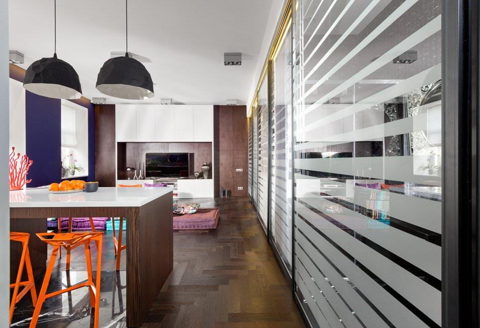 Интерьер стильной квартиры-студии в Киеве
