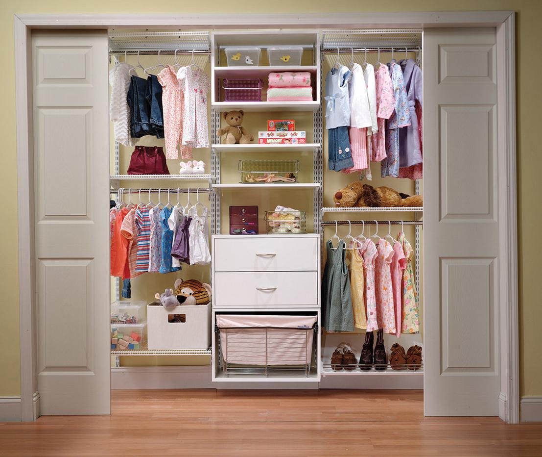 Встроенная гардеробная в детской