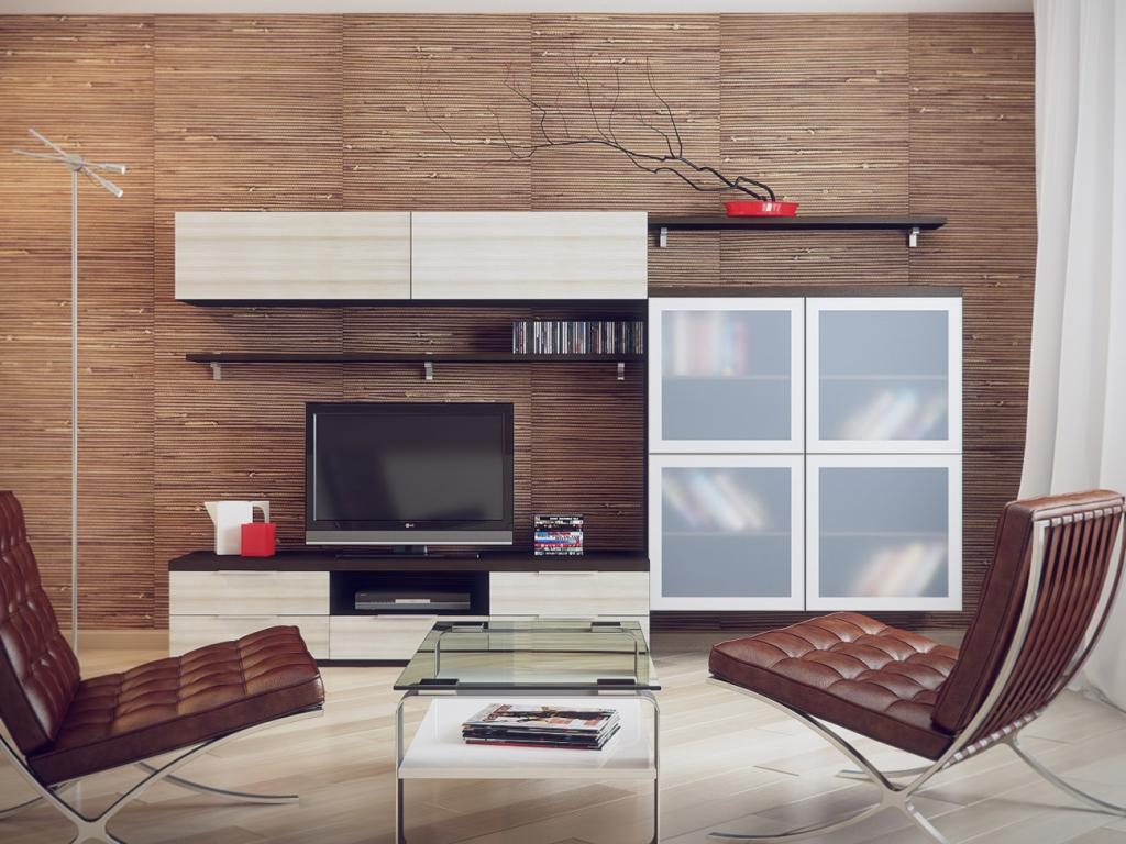 Лёгкая мебель в гостиной