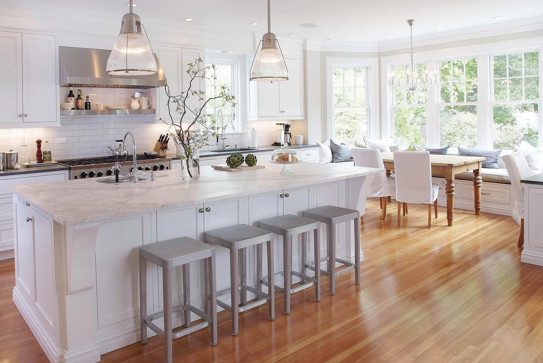 Скрытая подсветка на кухне