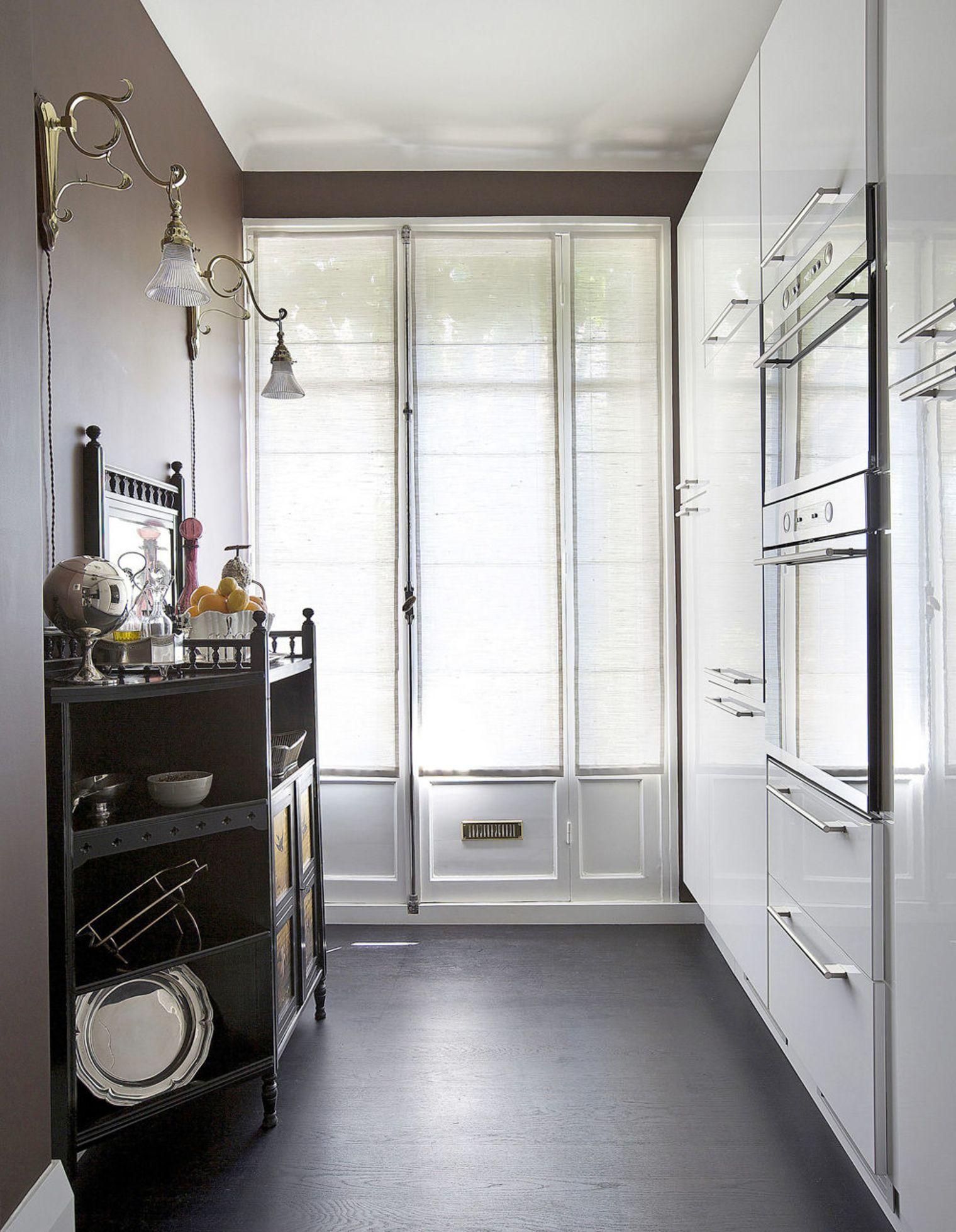 Разные стили в дизайне маленькой кухни