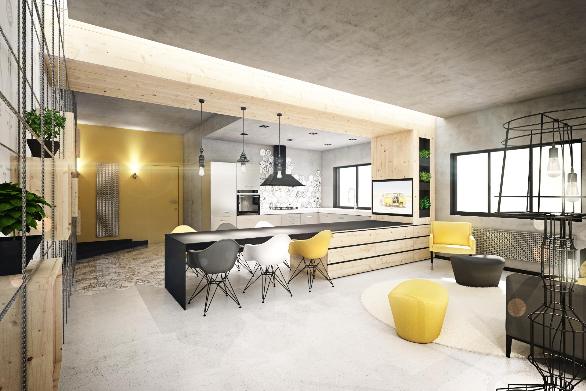 Интерьер маленькой квартиры от дизайнеров из Brain Factory