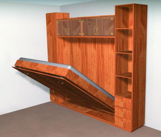 Двуспальная раскладная кровать