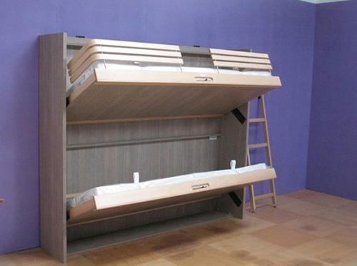 Двухъярусная раскладная кровать