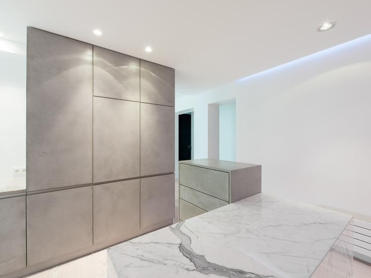 Потолочная подсветка на кухне