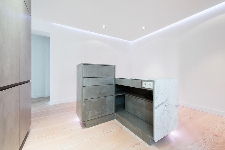 Кухонные поверхности с подсветкой