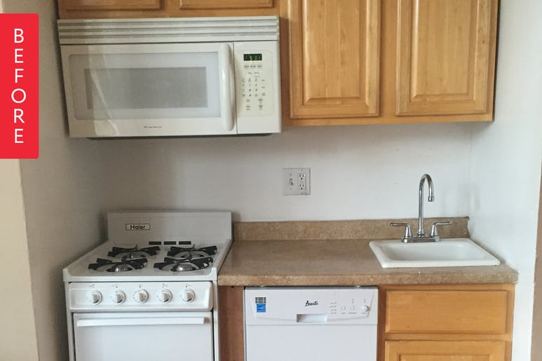 Переделка маленькой кухни