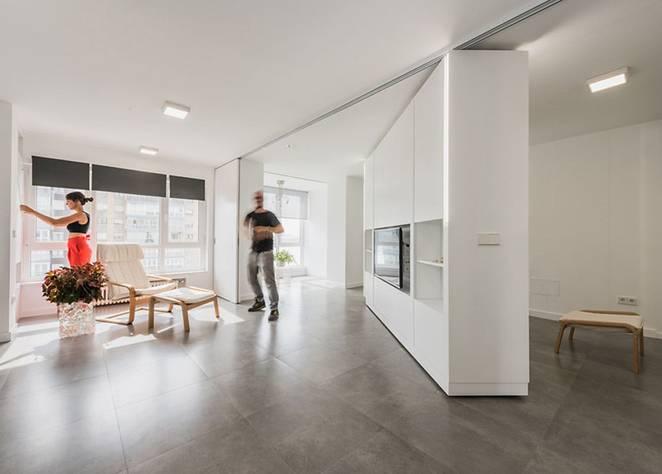 Стены-трансформеры в интерьере квартиры