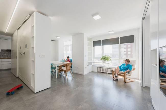 Квартира со стенами-трансформерами