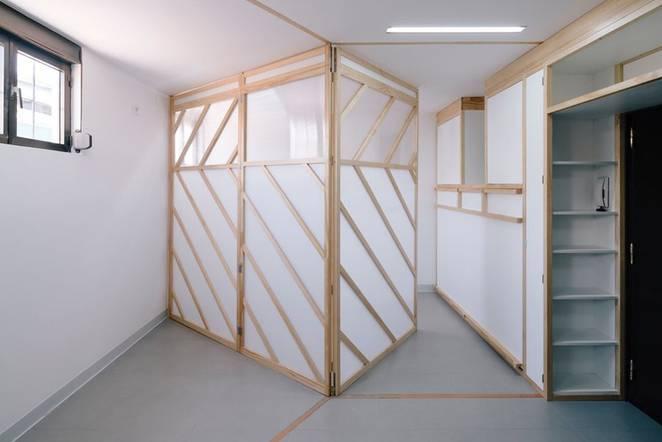 Передвижные стены в интерьере маленькой квартиры