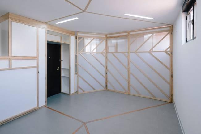 Квартира с передвижными стенами