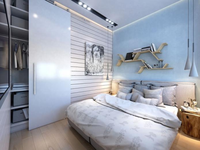 Стильная перепланировка квартиры 35 квадратных метров