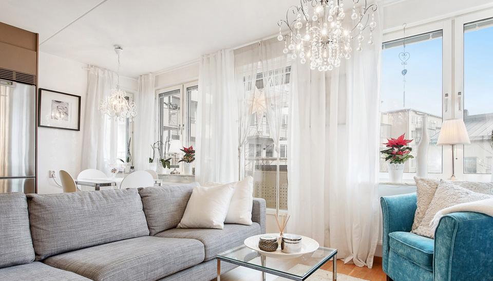 Стильная перепланировка квартиры 38 квадратных метров