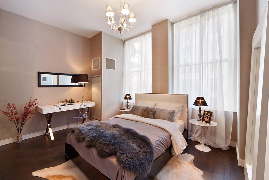 Восхитительная перепланировка квартиры на Манхэттене