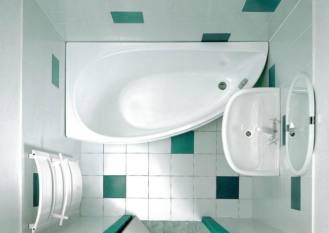 Примеры дизайна маленьких ванных комнат