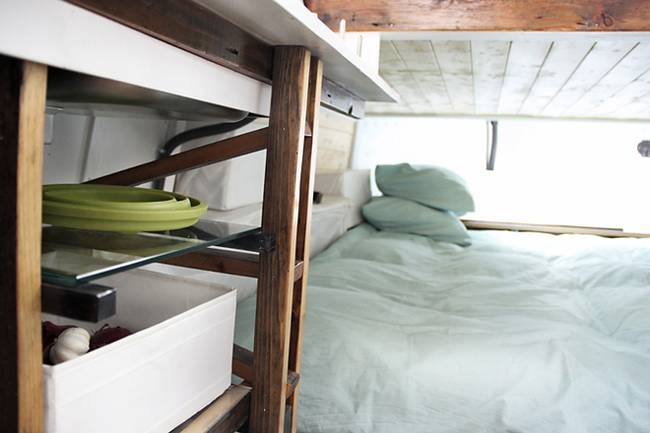 Спальня в плавучем доме - фото 2
