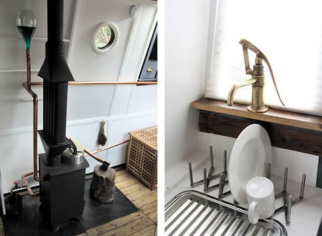 Кухня в плавучем доме - фото 2