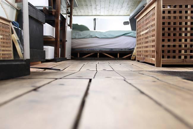 Спальня в плавучем доме