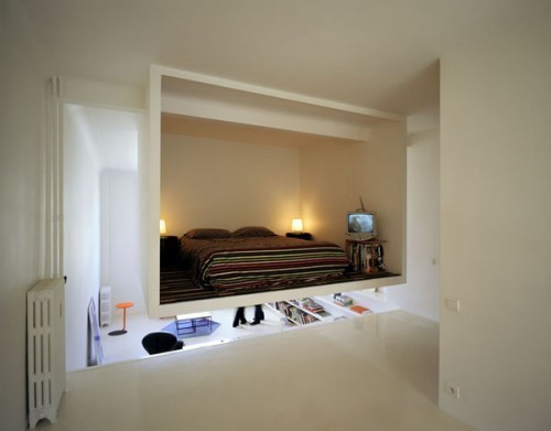 Спальня в нише