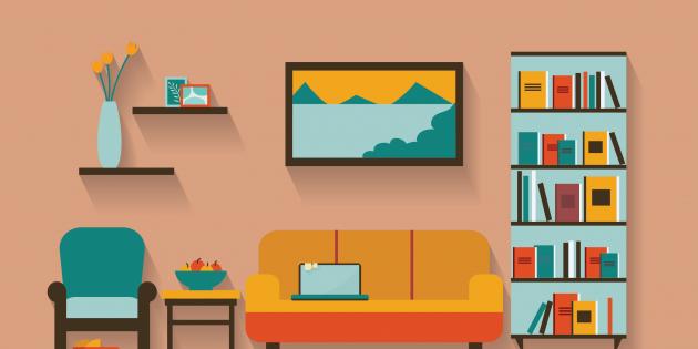 Мебель-трансформер в маленькой квартире: пример планировки
