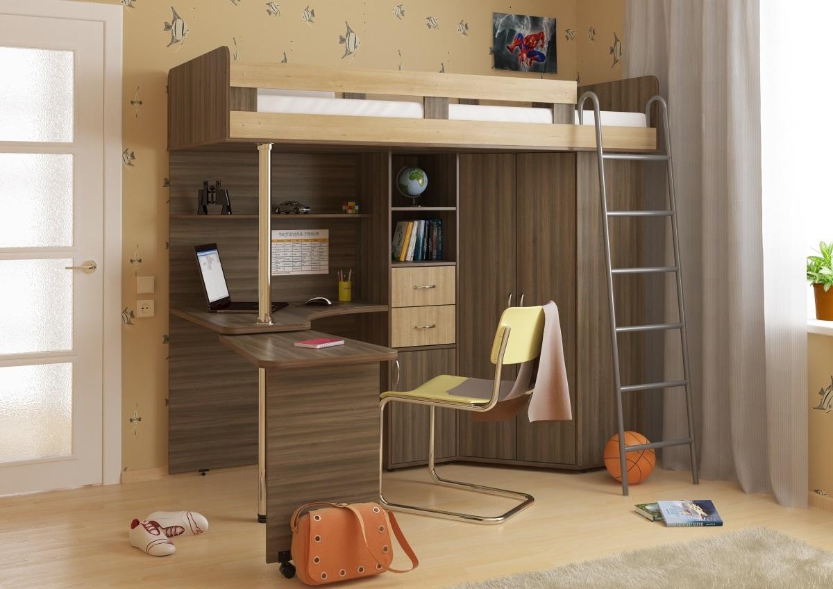 Мебель-трансформер в интерьере детской - фото 1