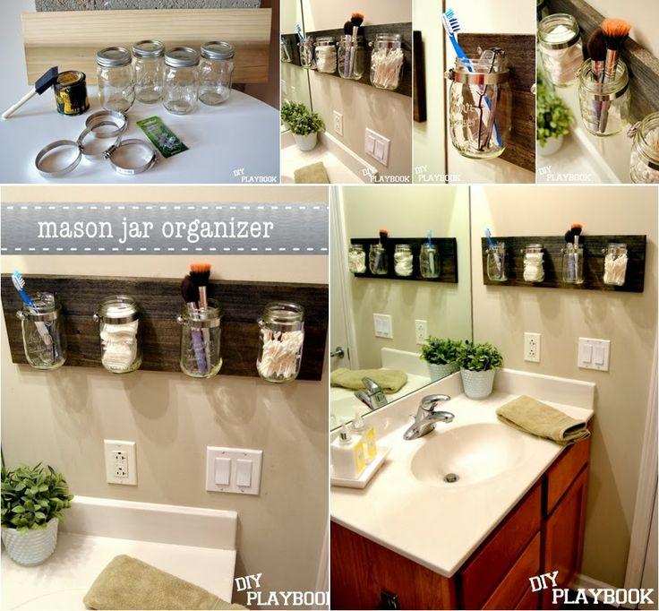 Органайзер для мелочей в ванной