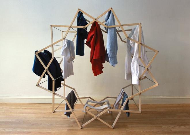 Круглая сушилка для одежды