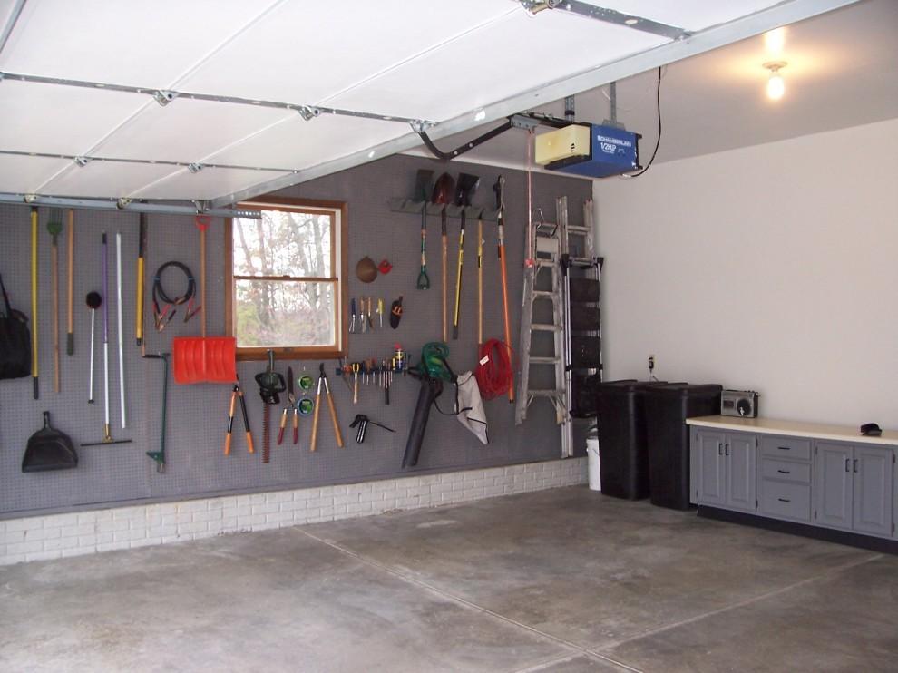 Настенная система хранения в гараже