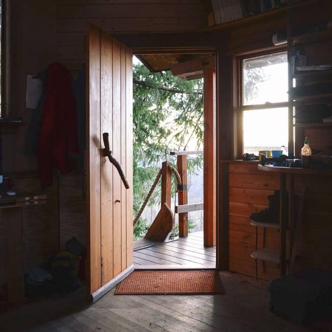 Домик на дереве своими руками: кухня