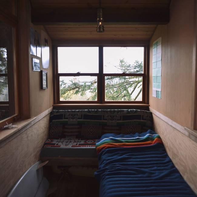 Домик на дереве своими руками: спальня